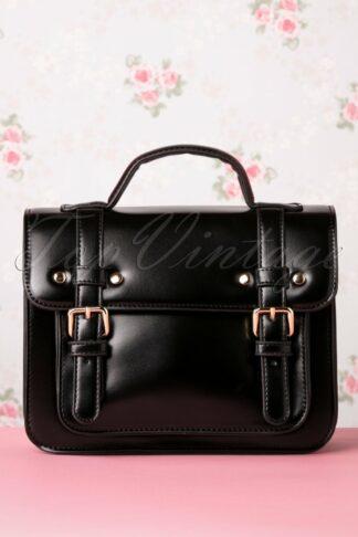 50s Galatee Messenger Bag in Black