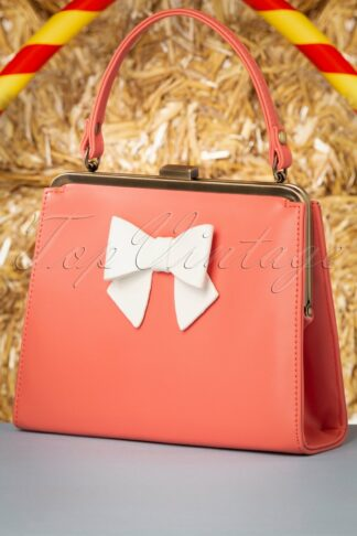 50s Inez Sweet Treat Bag in Coral