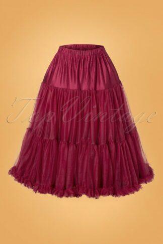 50s Lola Lifeforms Petticoat in Bordeaux
