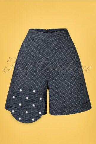 50s Spot Perfection Shorts in Navy