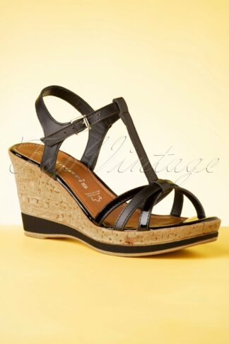 60s Wendy Wedges in Black