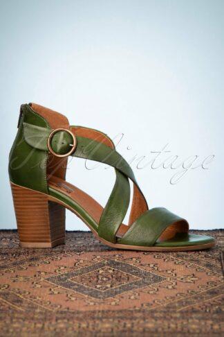 70s Spritz Sandals in Kiwi
