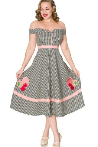 Timeless London Vintage Swing Kleid Heartbreaker von Rockabilly Rules