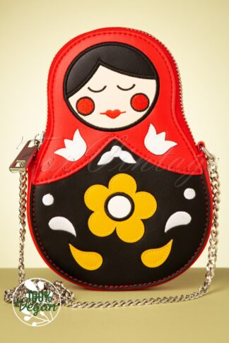 TopVintage exclusive ~ Matryoshka Memories Crossbody Bag