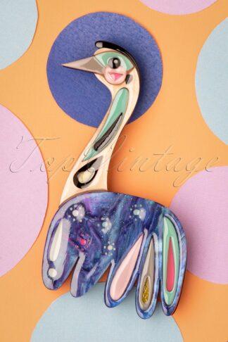 TopVintage exclusive ~ The Enchanting Emu Brooch