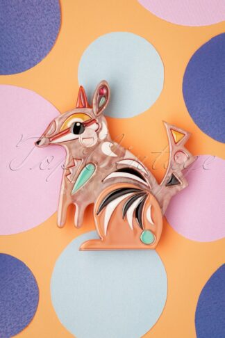 TopVintage exclusive ~ The Notorious Numbat Brooch