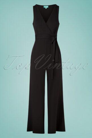 50s Wanda Jumpsuit in Black