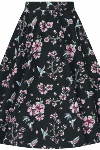 Hell Bunny - Madison 50's Skirt - Rock knielang - schwarz
