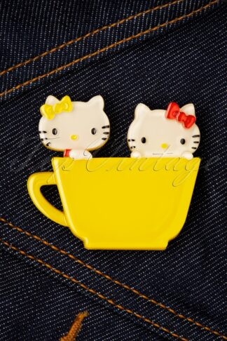 TopVintage exclusive ~ Hello Kitty & Mimmy Brooch
