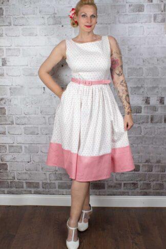 Collectif Kleid Brielle Love Heart Swing von Rockabilly Rules