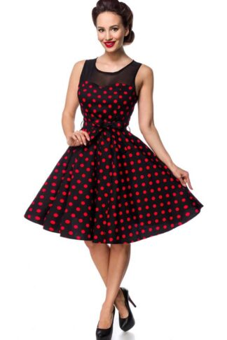 Belsira - Polkadot Swing Kleid Audrey von Rockabilly Rules