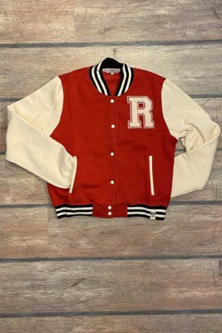 Letzte Chance - Rumble59 - Sweat College Jacke - rot III von Rockabilly Rules