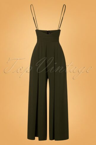 40s Kourt Trousers in Olive