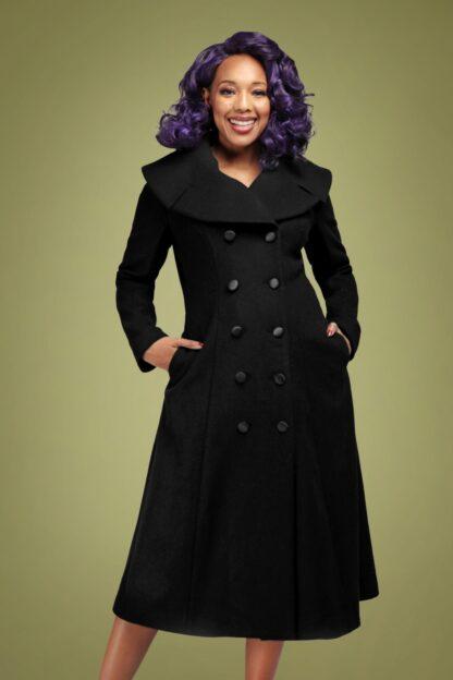 50s Eileean Coat in Black