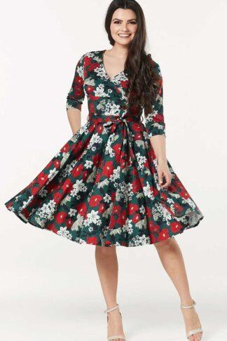 Timeless London Vintage Swing Kleid Angela von Rockabilly Rules